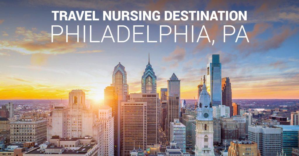 Travel nursing in Philadelphia, PA