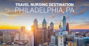 Travel nursing in Philadelphia, PA